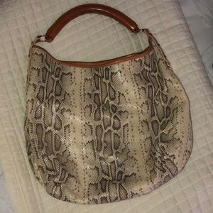 Tre Vero Handbag snakeskin